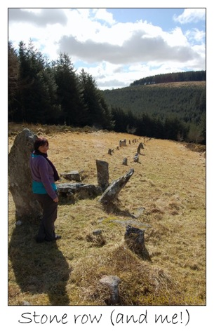4 stone row