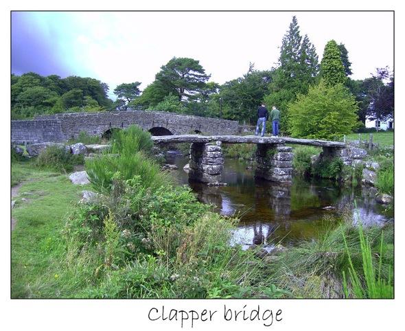 1 clapper bridge