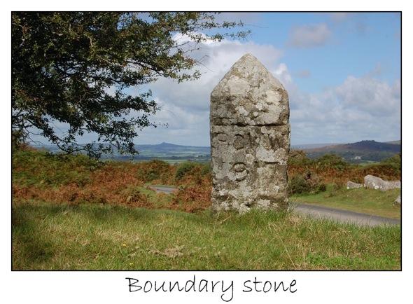 6 boundary stone PCWW 917