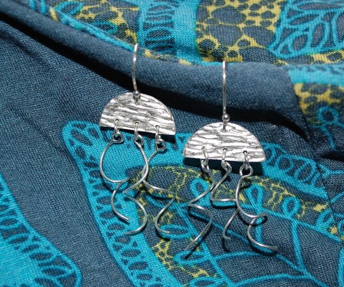 A. silverclay jellyfish