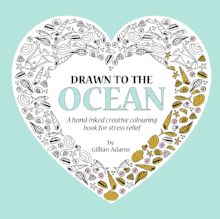 Drawn to the Ocean adult colouring book