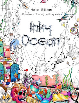 12 sea-themed colouring books for adults