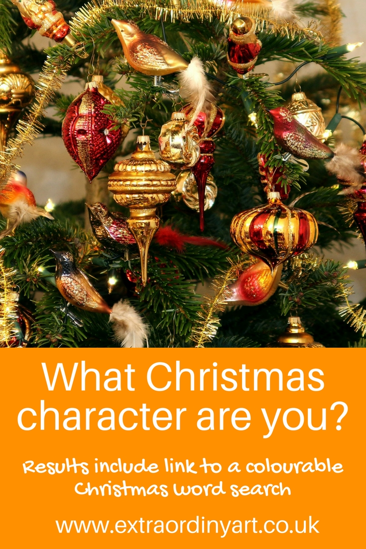 What Christmas character are you? quiz