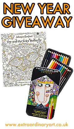 New Year Colouring Giveaway