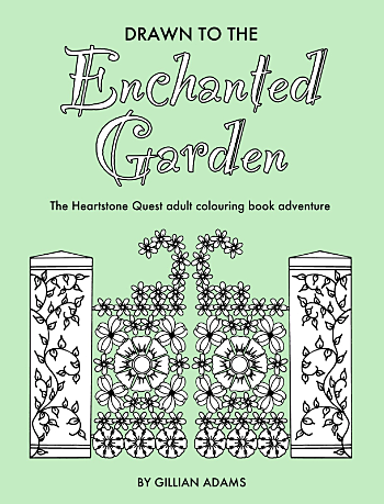 Drawn to the Enchanted Garden colouring book
