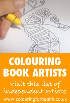 List of independent colouring book artists
