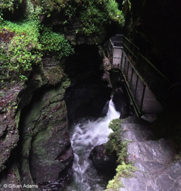 Devil's cauldron, Lydford Gorge © Gillian Adams