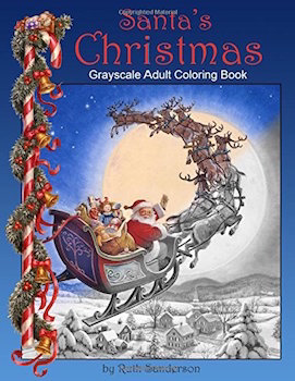 22 Christmas colouring books for adults