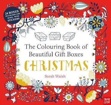 The Colouring Book of Beautiful Gift Boxes