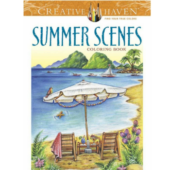 10 colouring books for summer days