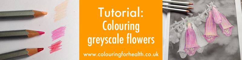 How to color grayscale flowers