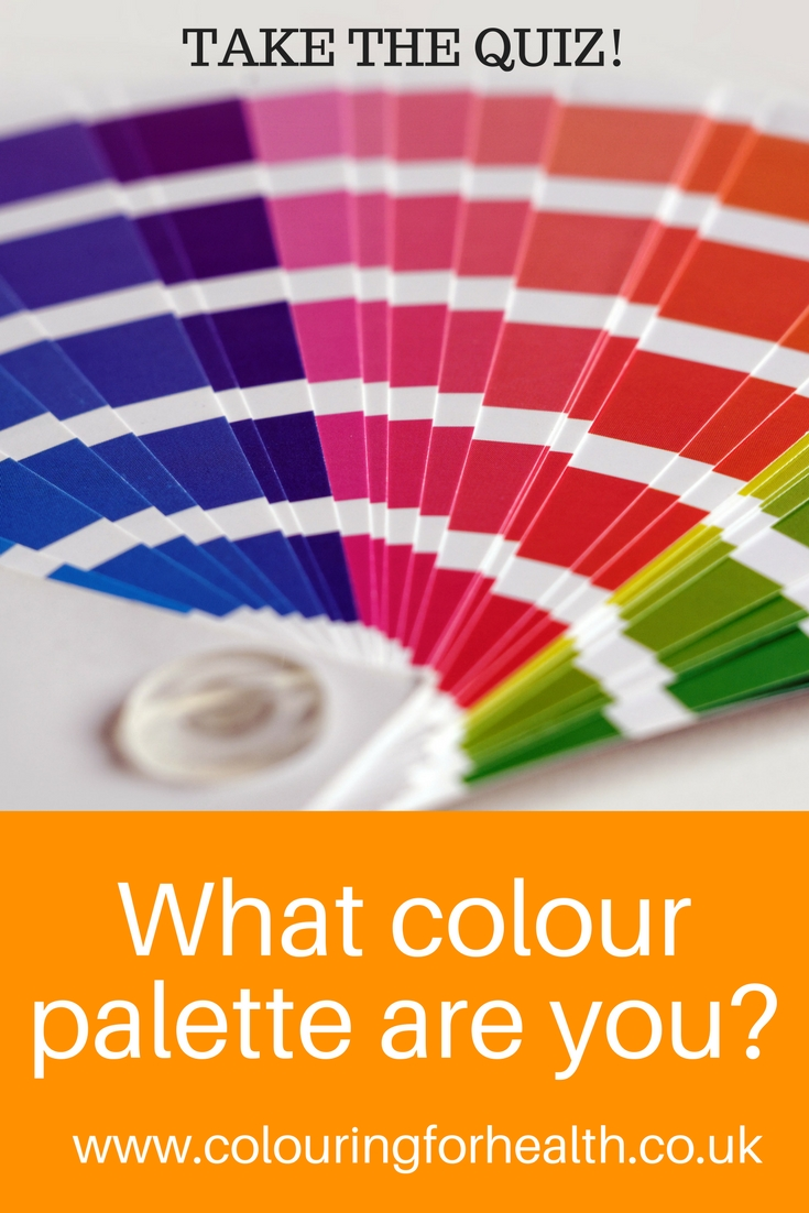 Colour quiz pin
