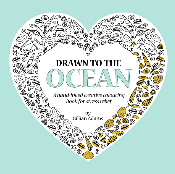 Drawn to the Ocean colouring book