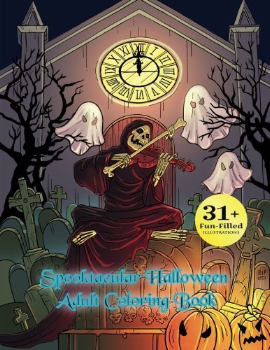 10 spooky Halloween colouring books for adults