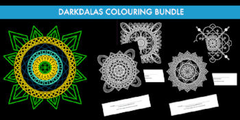 Darkdalas colouring bundle