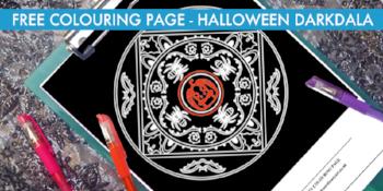 Halloween Darkdala free colouring page