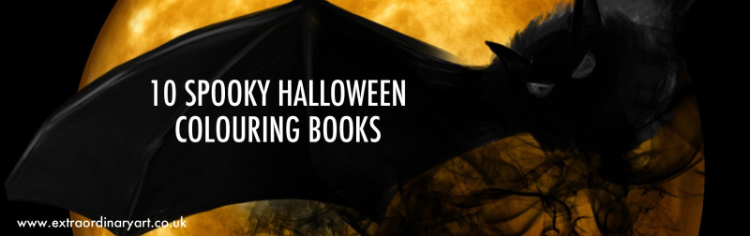 10 Spooky adult colouring books for Halloween