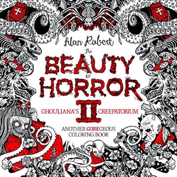 10 spooky colouring books for adults