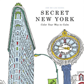12 cityscape colouring books for adults