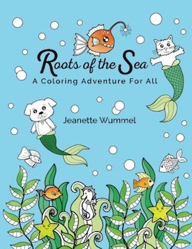 10 sea themed colouring books for adults