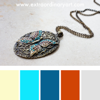 10 colour palettes inspired by gorgeous jewellery