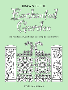 Drawn to the Enchanted Garden adult colouring book adventure