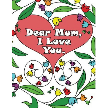 10 colouring books for Mother's Day