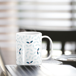 Mugs and travel cups on Society6