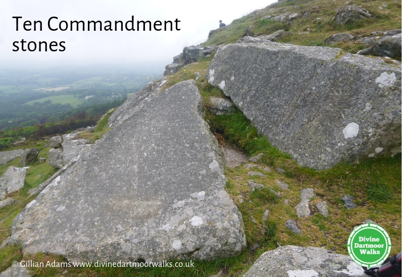 Ten Commandment Stones, Dartmoor