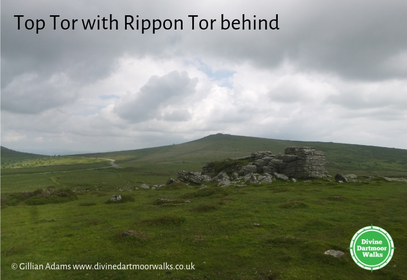 Top Tor with Rippon Tor behind, Dartmoor