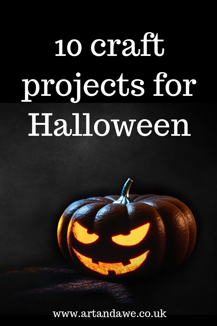 10 craft projects for Halloween