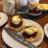 Cream Tea, Two Bridges Hotel