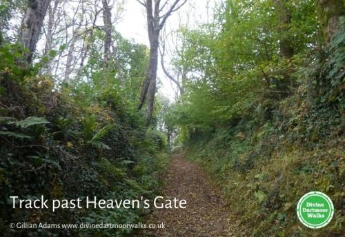 Track past Heaven's Gate © Gillian Adams