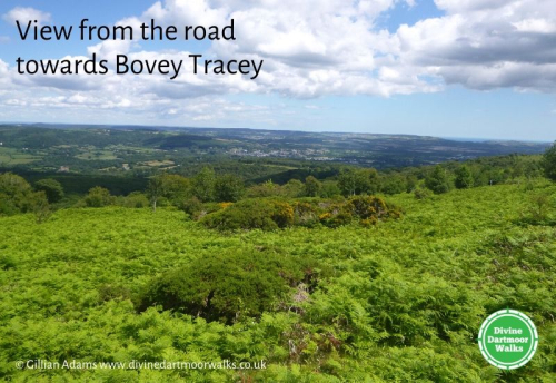View towards Bovey Tracey