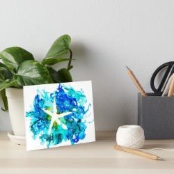 Starfish art-board-print